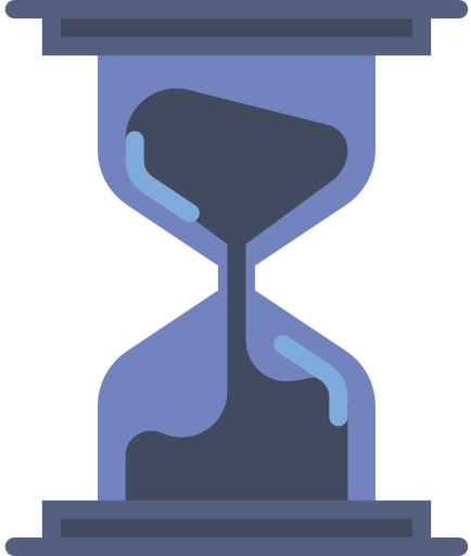 Hourglass so you can be on time