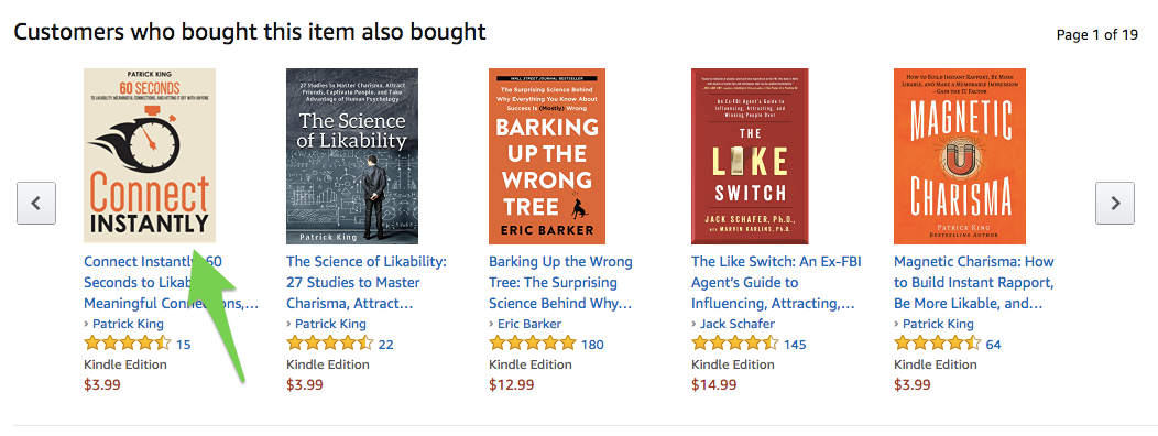 Recommended books on Amazon